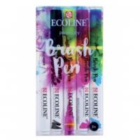 Набір пензлів-ручок Ecoline Brushpen PRIMARY 5 кол, Royal Talens